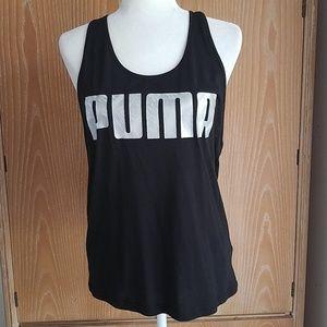 Puma athletic tank, NWT size L